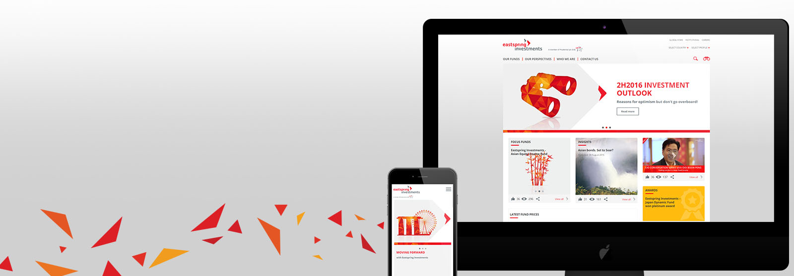 Eastspring Investments Responsive Website